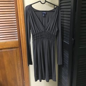 Max Edition Charcoal Knit Dress, medium